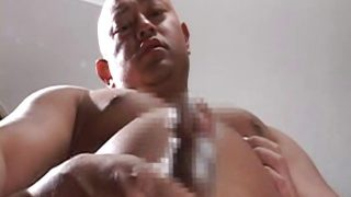 Anal-chute of Fire (With Handless Cumshot)