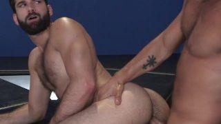 RagingStallion Beardy Hairy Jocks Enjoying Big Cocks